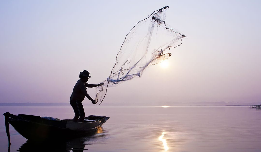 Dropping Your Net To Follow Jesus
