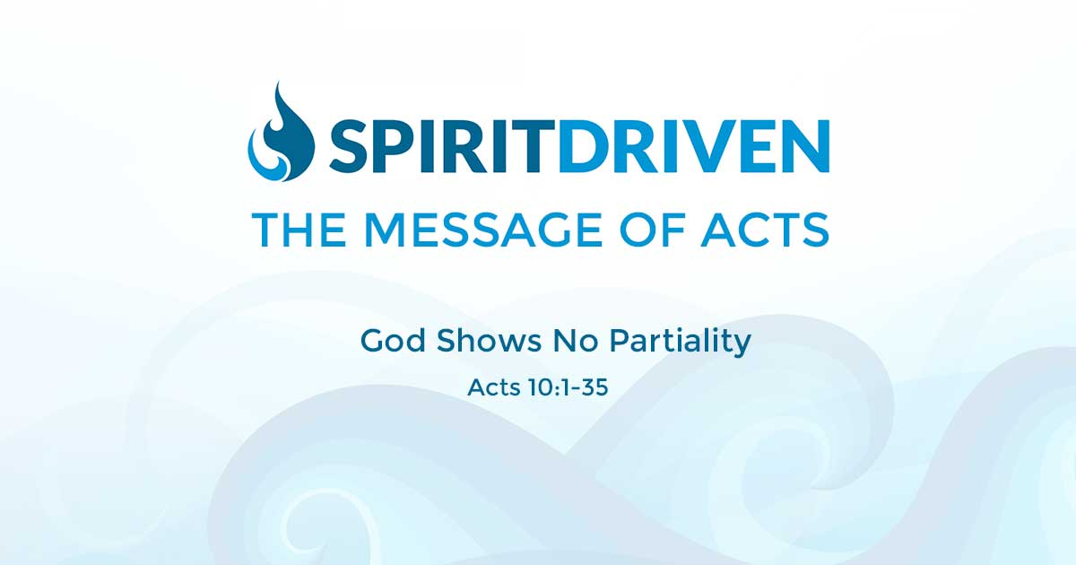 God Shows No Partiality